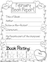 subway book reports and shout outs first grade printable worksheet template - Printable Books For Kids