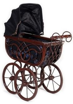 Very classy stroller.  someone gave us one of this for our first born...i really was going to use it...a century later...but got one at a baby shower...sb
