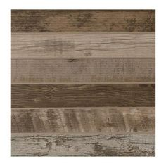 Daltile Modern Outdoor Living Weathered Wood 18 in. x 18 in. Glazed Porcelain Floor and Wall Tile (17.60 sq. ft. / case)