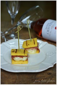 Finger food di polenta