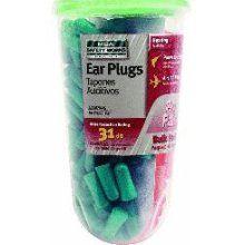 Bulk Earplugs (80 pairs)