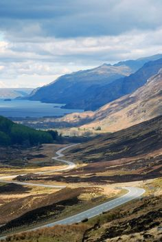 Glen Docherty is a glen in Wester Ross in Scotland, between Loch Maree and Kinlochewe to the west and Loch a'Chroisg and Achnasheen to the eas