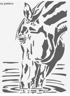 Horse Stencil, Stencil Painting, Painting & Drawing, Silhouette Painting, Horse Silhouette, Marilyn Monroe Painting, Horse Coloring Pages, Dachshund Art, Wood Burning Patterns