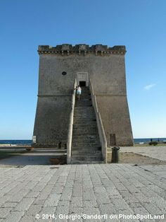 Torre Lapillo, Lecce, Apulia, Italy. The tower was built by Charles V in 1568 to protect the Salento from the invasions of the Saracens. Photo by Giorgio Sandorfi. See more here: http://www.photospotland.com/spots/200