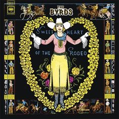 The Byrds - Sweetheart of the Rodeo on Colored 180g Vinyl LP