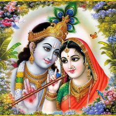"✨ RADHA KRISHNA ✨ ""O nectar happiness of Shri Radha! O lotus flower growing in Gokula! O Krishna! O Hari! Glory, glory to You! O ornament of Shri Radha's ornaments! O sinless one! O king of Gokula's hearts! O Krishna! O Hari! Glory, glory to. Krishna Leela, Jai Shree Krishna, Radha Krishna Photo, Radha Krishna Love, Radhe Krishna, Hanuman, Baby Krishna, Radha Rani, Cute Krishna"