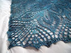Linzknits' Tanis Silk Nightsongs, in Silver Label Teal