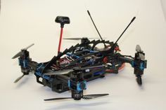 Sector3 prototype X8 mini quad racer. Www.sec3research.com