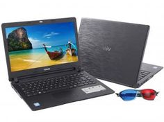 "Notebook CCE U45L Intel Dual Core 847 1.1 GHz - 4GB 500GB LED 14"" Placa de Vídeo 1720MB Bivolt (135209500)"