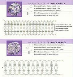Circuit rings of beads / rings / Biserok.org2-2