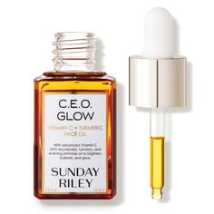 Check out exclusive offers on Sunday Riley C. Glow Vitamin C + Turmeric Face Oil at Dermstore. Order now and get free samples. Shipping is free! Clean Beauty, Beauty Stuff, Makeup Stuff, Sunday Riley, Evening Primrose, Bright Skin, Face Oil, Skin Makeup, Vitamin C