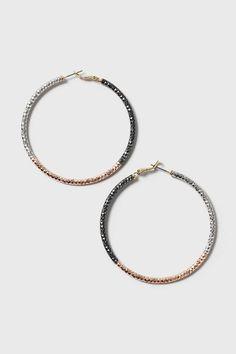 Ombre Hoop Earring - Jewellery - Bags & Accessories - Topshop