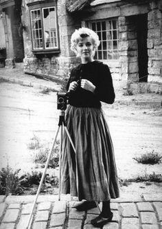 Marilyn Monroe by Milton Greene, May 1954