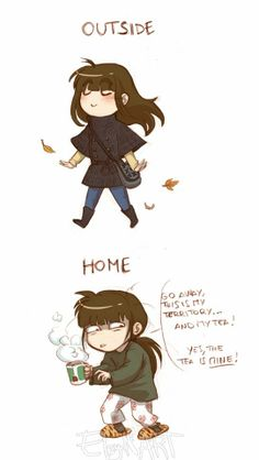 What happens when introverts get tired.Go away! by EleyonArt on deviantART << XD SO TRUE Cute Comics, Funny Comics, Funny Quotes, Funny Memes, Jokes, Otaku Anime, Stupid Funny, Hilarious, Online Comics