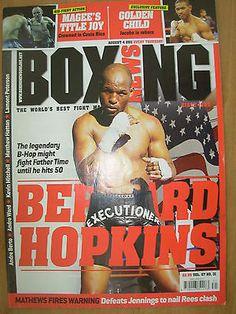 BOXING NEWS 4 AUGUST 2011 BERNARD HOPKINS THE AGELESS FIGHTER
