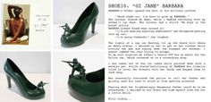 12 shoes for 12 lovers:BARBARA