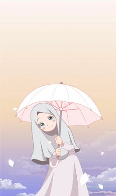 351 Gambar Anime Muslimah Terbaik Kartun Animasi Seni Islamis