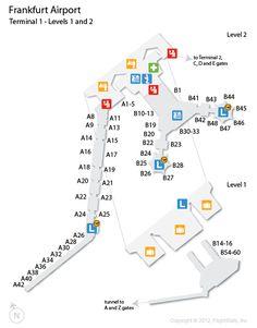 FrankfurtMain_Airport_Map_DEpng 22531890  Frankfurt