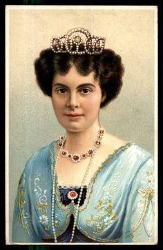 Duchess Cecilie of Mecklinburg-Schwerin, Crown Princess consort of Prussia.