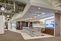 Nice break area without needing a break room break - Interior design jobs washington state ...