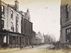 General view of Scouringburn, Dundee. Dundee City, West End, Photo L, Old West, Aerial View, Historical Photos, Great Britain, Old Photos, Scotland