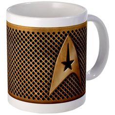 CafePress Star Trek Mug - S White @ niftywarehouse.com #NiftyWarehouse #StarTrek #Trekkie #Geek #Nerd #Products