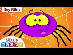 Itsy Bitsy Spider Nursery Rhyme | Kids Songs | by Little Angel - YouTube Fun Learning, Teaching Kids, Popular Kids Songs, Rhymes For Kids, Children Rhymes, Kindergarten Songs, Itsy Bitsy Spider, Third Grade Science, Physics Classroom