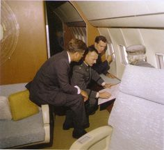 Conference Aboard Air Force One