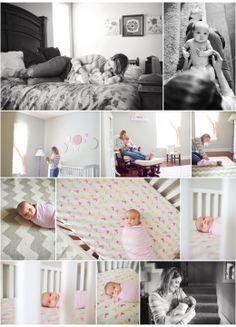 Kelly Garvey Lifestyle Newborn - different angles in crib