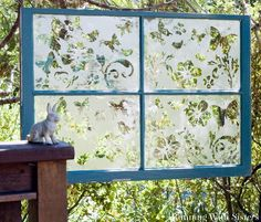 Decor Ideas - Old Window - Jen R's clipboard on Hometalk, the largest knowledge hub for home & garden on the web
