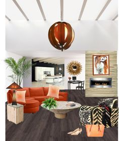 """""""Bright loft"""" by shistyle on Polyvore"""