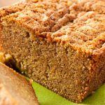 Almond Chocolate Banana Zucchini Bread Calories 85 Total Fat 6 g Cholesterol 41 mg Sodium 78 mg Total Carbs 7 g Dietary Fiber 2 g Protein 3 g