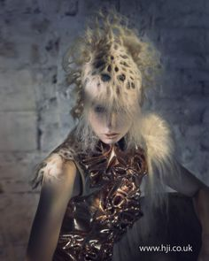 Avant garde hair by Indira Schauwecker. BHA Avant Garde Hairdresser of the Year Creative Hairstyles, Up Hairstyles, Hairdos, Avant Garde Hair, Toni And Guy, Extreme Hair, Editorial Hair, Hair Creations, Fantasy Hair