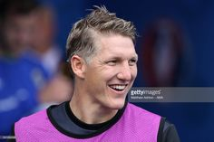 Bastian Schweinsteiger of Germany looks on prior to the UEFA EURO 2016 Group C match between Northern Ireland and Germany at Parc des Princes on June 21, 2016 in Paris, France.