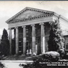 My mom's boarding school, The Charles E. Ellis School for Girls began as a school for girls who had lost their fathers during the Civil War.