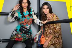 Ladies Sana Safinaz has got you covered for the coming months with a gorgeous ready-to-wear Fall/Winter collection! Block of bold and rich colours create a lusciously impactful visual appeal. The r…