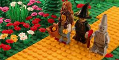 The Wizard of Oz with LEGO