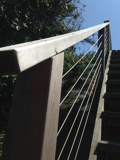 #StainlessSteel #Wire #railing #dunewood #fireisland