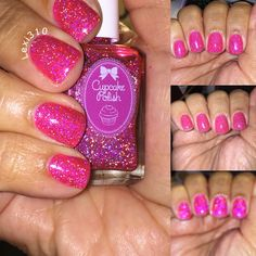 This is Cupcake Polish 'Like' and omg what's not to like.  It jam packed with sparkly goodness I can't stop gawking.