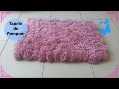 Como fazer um tapete de pompom - YouTube