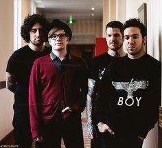 My favorite alternitive band,Fall out Boy!