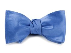 Solid Satin BOW TIES - Light Cornflower | Ties, Bow Ties, and Pocket Squares | The Tie Bar