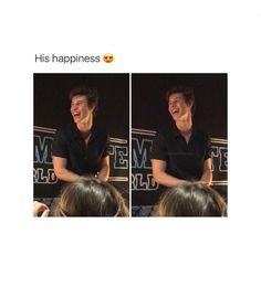 Omg I think I just died, his smile AHAHJANEKSNEKBSHSK #MendesArmy