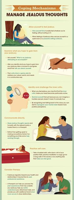 How to cope with jealous feelings