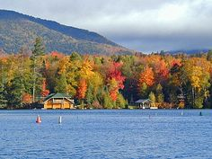 Saranac Lake, Adirondacks, NY  some day I want to see the fall colors in Saranac Lake .   we were there in the summer  Love this place