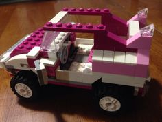 Pink Lego jeep