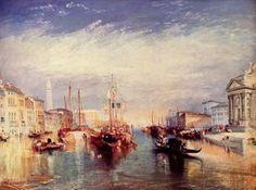 Turner, Joseph Mallord William: Venedig vom Portal Madonna della Salute (Venice, from the Porch of Madonna della Salute)