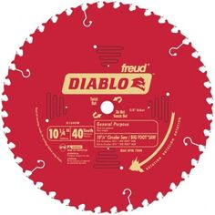 Diablo D1040w 40 Teeth Circular Saw Blade Carbide Tip Circular Saw Blades Table Saw Blades Circular Saw