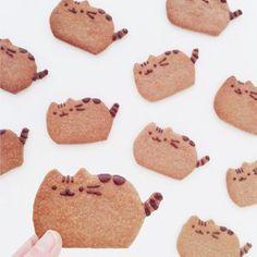 Pusheen cookies