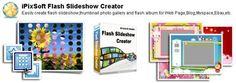 iPixSoft Flash Slideshow Creator 4.5.7.0 + Templates Pack
